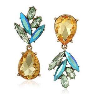 Betsey Johnson Faceted Pineapple Earrings